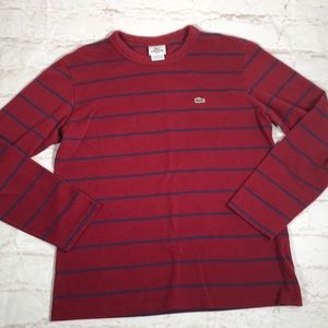Lacoste sweater. Size large